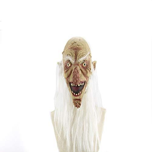 Oud Man Masker Latex voor Mannen voor Leprosy Geek Halloween Grappige Horror Ghosts