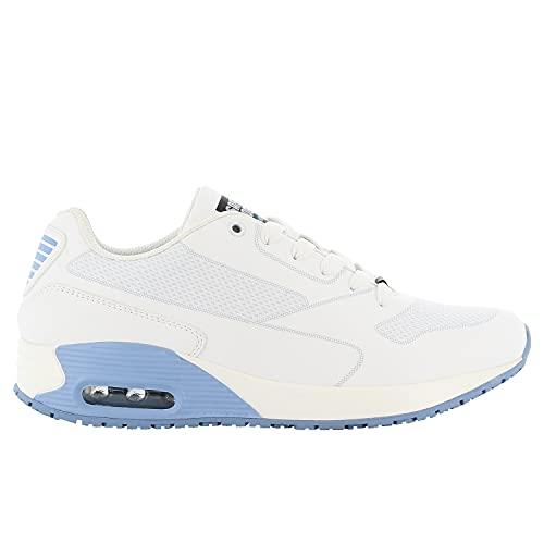Safety Jogger Oxypas Damen Arbeits-Sneaker, Blau, 39 EU