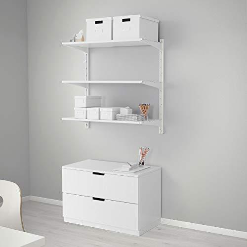 IKEA ALGOT muur rechtop/planken wit (86x41x85 cm)