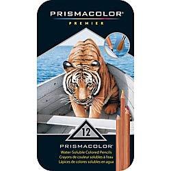 Prismacolor Premier Watercolor Pencils, Pack of 12