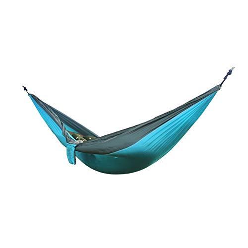 Haute Qualité Ultraléger Camping En Plein Air Hamac Sommeil Balançoire Arbre Lit Jardin Backyard Meubles Fauteuil Suspendu Hangmat 270 * 140cm Confortable (Color : 18)