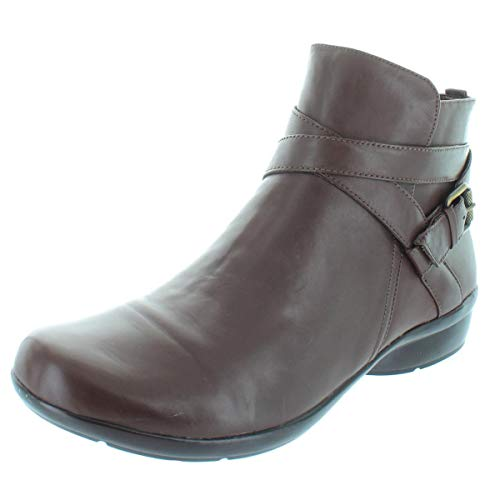 Naturalizer Women's Cassandra Ankle Bootie, Brown, 7.5 M US