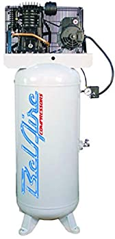 BelAire 216V 5 HP 60 Gallon 1-Phase Vertical 2 Stage Air Compressor