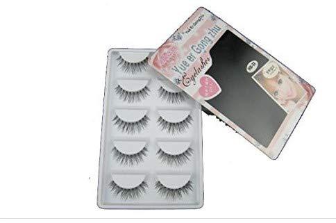 VWH 3D Fake Eyelashes Natural Thick False Eye Lashes Makeup Extension (K)