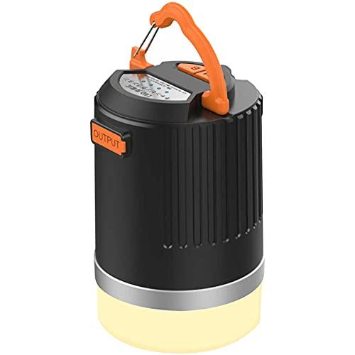 Bicosy LEDランタン充電式 3色切替 無段階調光 11200mAh大容量電池内蔵 電球色 白色 昼白色 暖色キャンプライト IP65防水・防塵 【2019年改良 輝度記憶チップ搭載・連続点灯510時間】