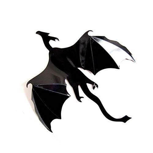 Preisvergleich Produktbild YUSDK wandaufkleber wandkunst 7 Teile / Satz Halloween Fantasie Dekor Dinosaurier Jungen Zimmer Game of Thrones 3D Drachen Wandkunst Aufkleber Wandaufkleber