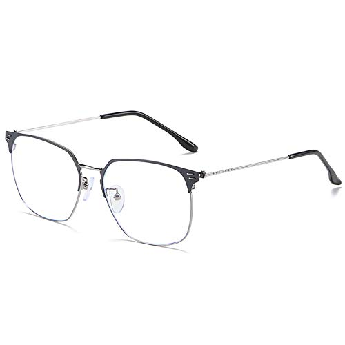 Männer Anti-Blau-Licht-Gläser, Blendschutz Anti-Fatigue-Gläser für Smartphone-Bildschirme, Computer oder Fernseher-4