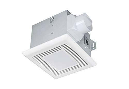 Tech Drive Very-Quiet 70 CFM, 2.0 Sone Bathroom Ventilation and Exhaust Fan With LED light 4000K 600LM(70CFM),Ceiling Mounted Fan,Easy to Install