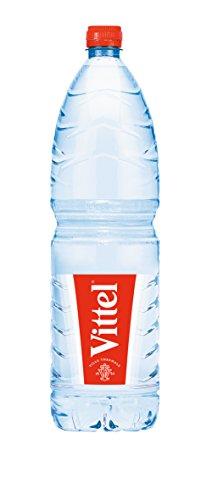Vittel | Stilles Mineralwasser | Aus französischer Quelle | Für eine natriumarme Ernährung | Mit Calcium und Magnesium | Flasche mit ergonomischer Griffmulde | Vorratspack | 1,5l PET EINWEG Flasche