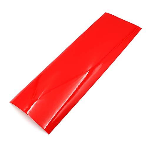 Finest Folia Scheinwerferfolie Tönungsfolie US Style Folie Blinker Nebelscheinwerfer Tint Film (Rot)