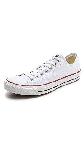 Converse Chuck Taylor All Star Core Ox, Sneaker Unisex, Bianco, Taglia 42