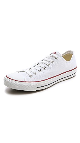 Converse Chuck Taylor All Star Season Ox, Zapatillas de Tela Unisex Adulto, Blanco, 46.5 EU