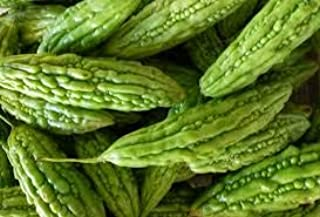 Pinky's Seed Company - 15+ Green Skin Bitter Melon Seeds- Momordica charantia