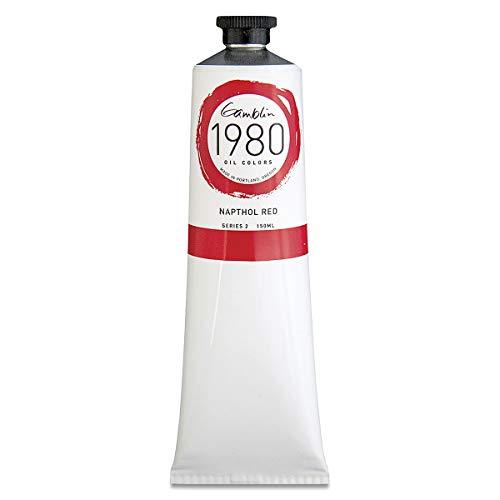 Gamblin 1980 Oil Napthol Red 150Ml