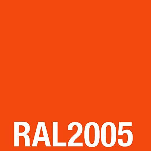 MST-DESIGN Acryllack I Acryl-Spray I Acryllack Spray I RAL 2005 Leuchtorange, glänzend I 400 ml Lack, Sprühlack, Grundlack, Basislack, Haftvermittler