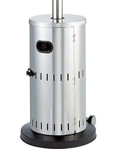 Enders Terrassenheizer Gas SOLID Edelstahl, Gas-Heizstrahler 5800, Heizpilz mit stufenloser Regulierung, Turbo-Brenner, höhenverstellbar, Transporträder, Umkippsicherung - 6
