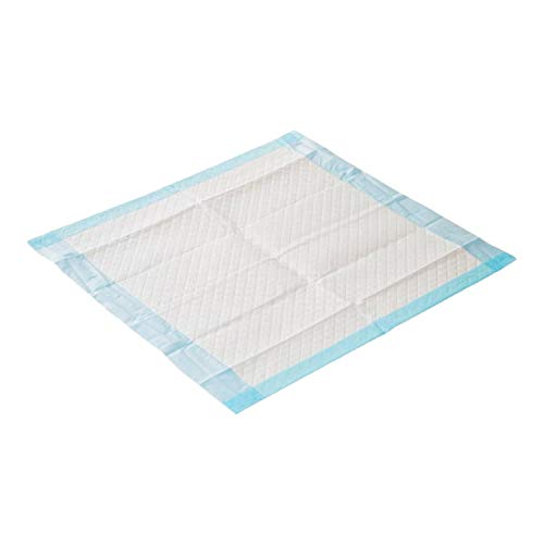 Krankenunterlage für Menschen mit Blasenschwäche | 100 Stück | 6-lagig saugstarke Inkontinenzunterlage 40 x 60 cm | Ideal auch für Babys oder als Welpenunterlage