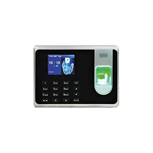 """Camtronics A200G Sistema biométrico de Control de Presencia con Lector de Tarjetas RFID y Teclado, 500 Huellas, 50.000 Registros, Display TFT de 2.8"""", Software Incluido"""