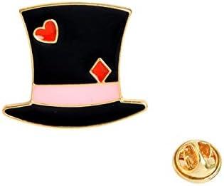 Queen Wonderland Brooches Women Wishing Enamel Pin Girl Pin
