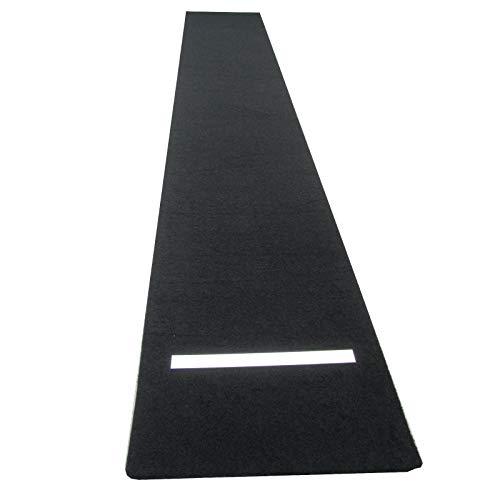 DL2 Dartmatte Darts Teppich 250 x 40 cm Variable Abwurflinie Oche Turnier maß