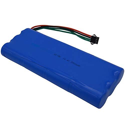 TOOGOO 14,4 Recargable Ni-Mh SC Batería para Paquete de Baterías de Aspiradora 3500Mah para Deebot D54 D56 D58 Deepoo 540 550 560 570 580 543
