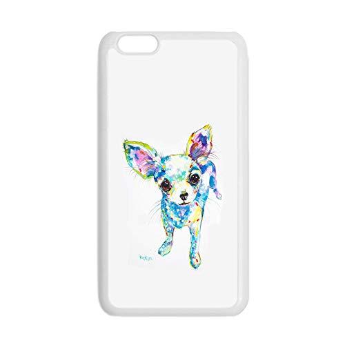 Antidetonante Compatible En iPhone 6P 6Ps Mujer Impresión Chihuahua 6 Conchas De Plástico Choose Design 128-2