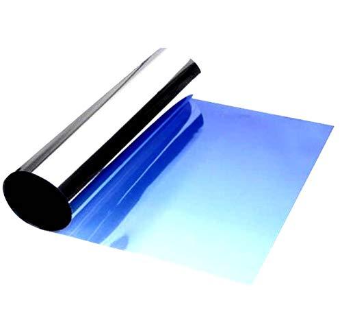 Solux Sonnenblende für Windschutzscheiben, Film 150x20 cm zum Aufhängen, Deckkraftverlauf Farbe
