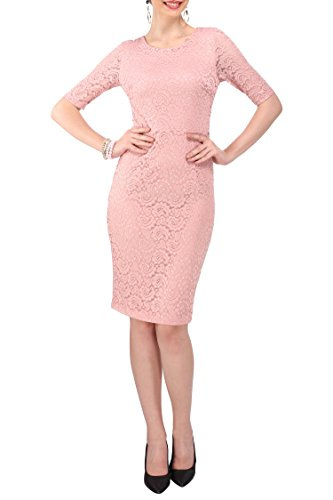 Miss Lavish damska francuska koronka sukienka vintage lata 50. Wiggle ołówek spódnica retro sukienki