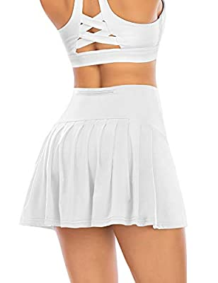 Pleated Tennis Skirts for