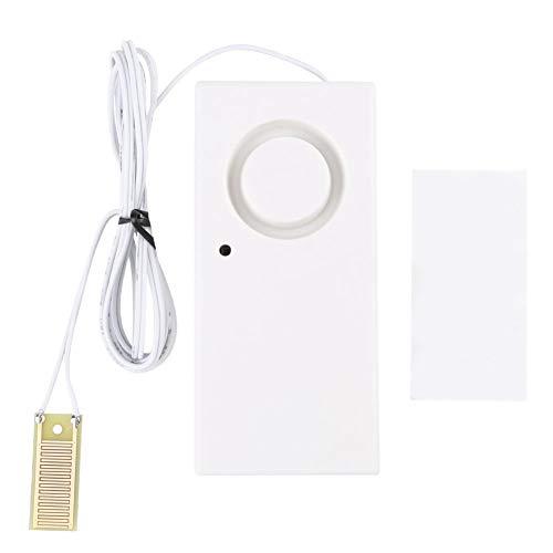 Alarma de fuga de agua, detector de sensor de desbordamiento de agua Sistema de alarma de fuga de agua de 120 dB