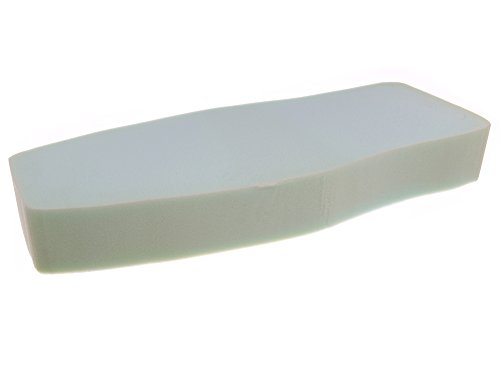 MZA Sitzbankpolster, glatte, lange Version - Simson S50, S51, S70, KR51 Schwalbe