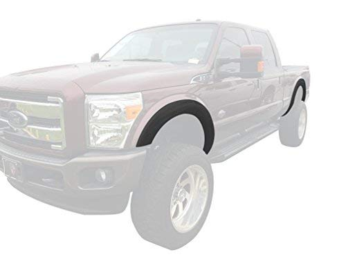 Monkey Autosports Factory/OE Design Fender Flares Compatible with 2011-2016 Ford F250/350. Set of 4