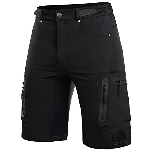 Cycorld Men's Outdoor Hiking Shorts Lightweight Quick Dry Stretchy Shorts Camping, Climbing, Travel