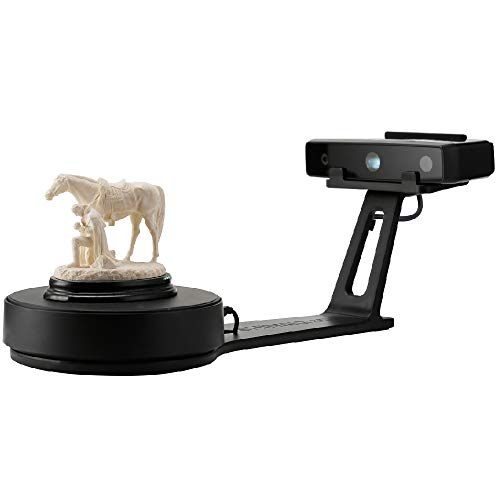 Shining3D [EinScan-SE] White Light Desktop 3D Scanner,0.1 mm Accuracy, 8s Scan Speed, 700mm Cubic Max Scan Volume, Fixed/Auto Scan Mode, Lowest Cost Professional Level 3D Scanner