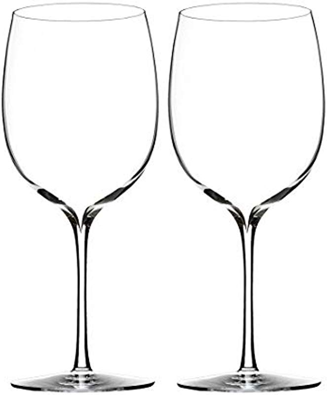Waterford Elegance Bordeaux Wine Glass Set Of 2