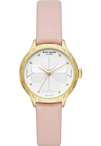 Kate Spade New York Rosebank Scallop - Reloj de Cuero Rosa para Mujer - KSW1537