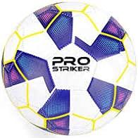 Pro Striker Balón de fútbol para fútbol, talla 5, color azul