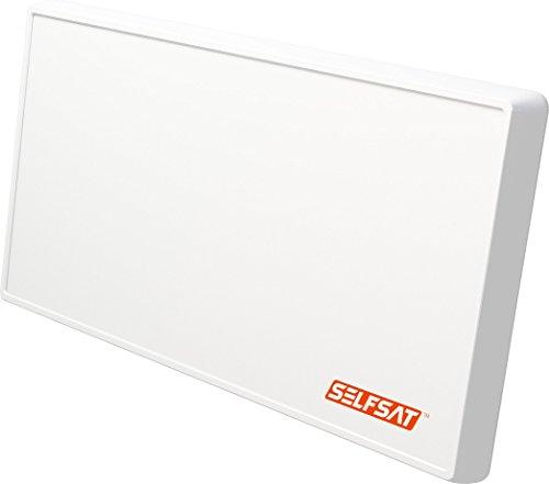Selfsat H21dCSS+ Unicable 2 Antenne (inkl. 2 Legacy Ausgängen) Weiß