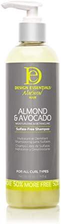 Design Essentials Super Moisturizing Detangling Sulfate Free Almond Avocado Collection Shampoo product image