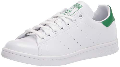 Adidas Originals Stan Smith, Sneaker Unisex – Adulto, Bianco (Running White Ftw/Running White/Fairway), 42 EU