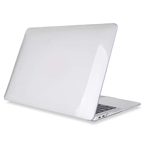 Plastic Clear Hard Shell Cover for MacBook Air 2020 A2337 A2179 Pro Retina 11 12 13 15 16 Inch Touch Bar A2141 A2338 A2289 Case-Clear Crystal-Pro 16 A21 inch 41