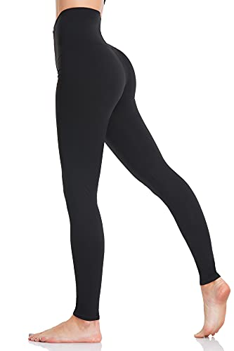 Aranmei Mallas Mujer Leggings Sin Costuras Elásticas Pantalon Deportivo Alta Cintura Control...