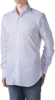 BARBA(バルバ) シャツ メンズ CULTO/セミワイド ツイル ドレスシャツ K1U13P-6603 [並行輸入品]