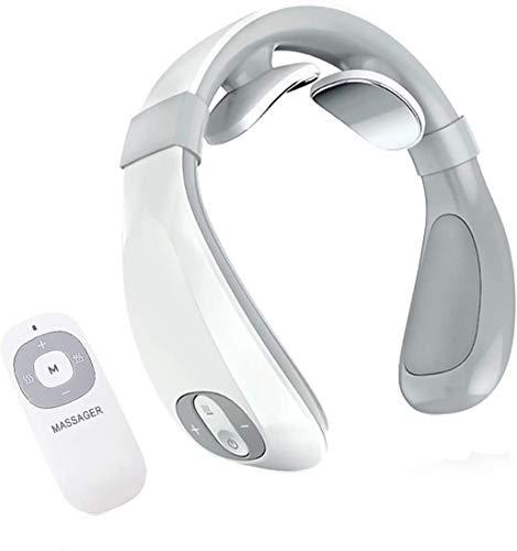 Nackenmassagegerät, intelligent, tragbar, mit Wärme, Halswirbelmassage, elektrisch, zur Entspannung und Linderung von Schmerzen im Haus, im Büro
