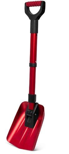 "Find Discount 34"" Folding Emergency Snow Shovel – Red"