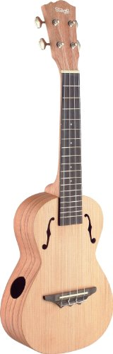 Stagg UCX-ROS-S Traditional Concert Ukulele mit Solid Cedar Top