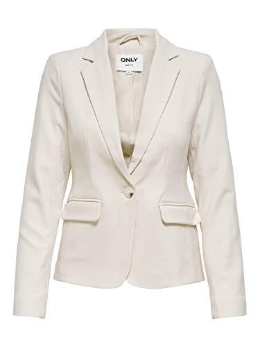 ONLY Blazer clásico para mujer. Blancocap Gris 38