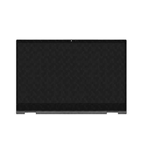 FTDLCD Pantalla táctil LCD de repuesto para HP Pavilion x360 Convertible 14-DW 14-dw1434ng 14-dw0107ng 14-dw0106ng 14-dw0106ng 14-dw0110ng con marco