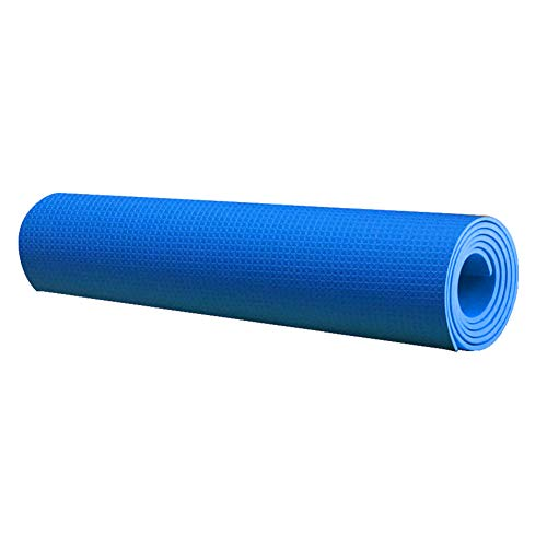Gebuter EVA Yoga Mat Non Slip Thick Textured Surface Thick Exercise Workout Mat for Fitness, 68 x 22 x 0.16 Inch
