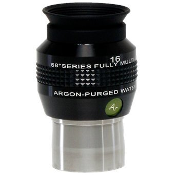 Explore Scientific 68 Degree Series 16mm Argon-Purged Waterproof Telescope Eyepieces